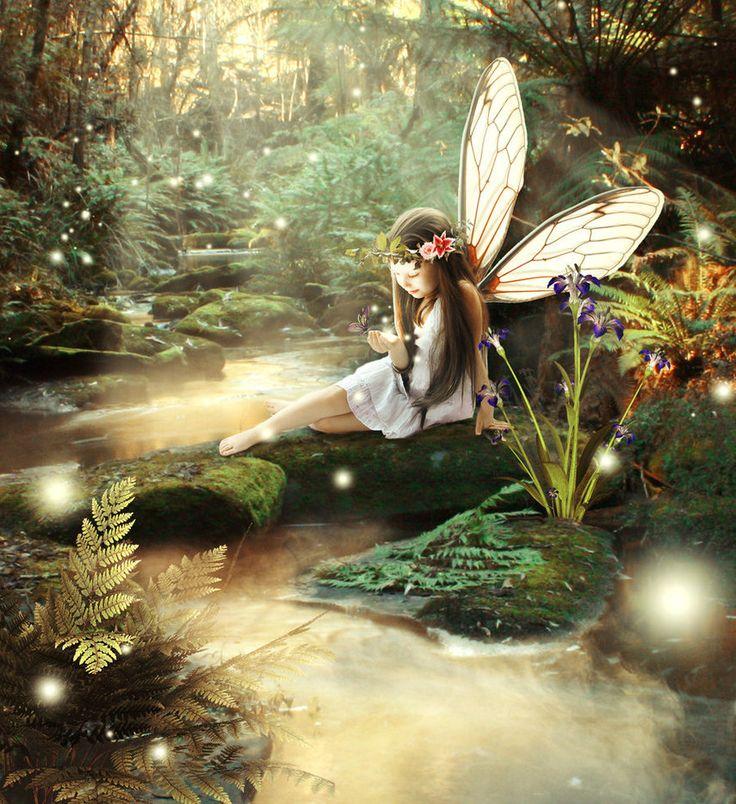 умные картинки с феями и эльфами титан