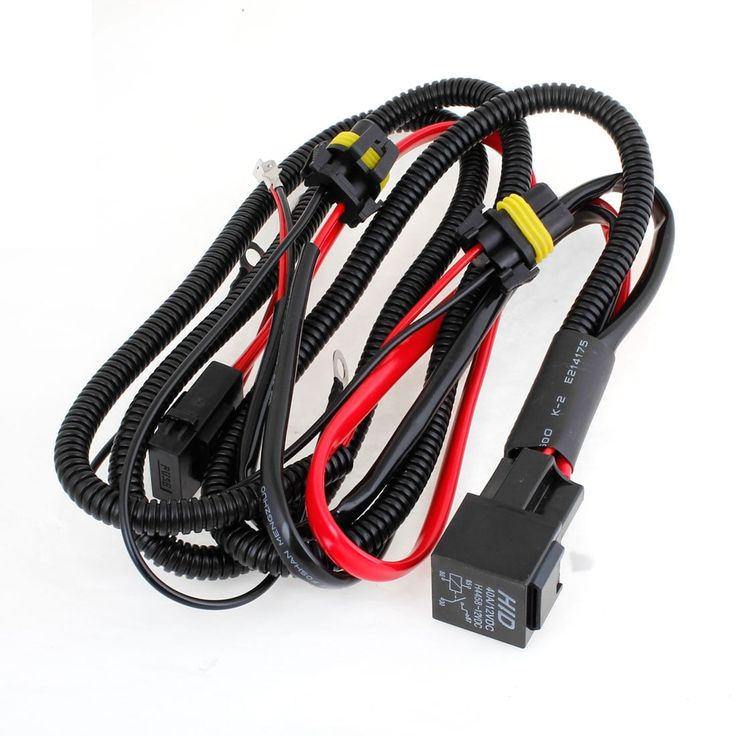 cheapest black square baha lights with wire harness 51