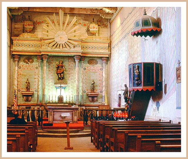 Californiau0027s Mission San Miguel By Sjb4photos, Via Flickr