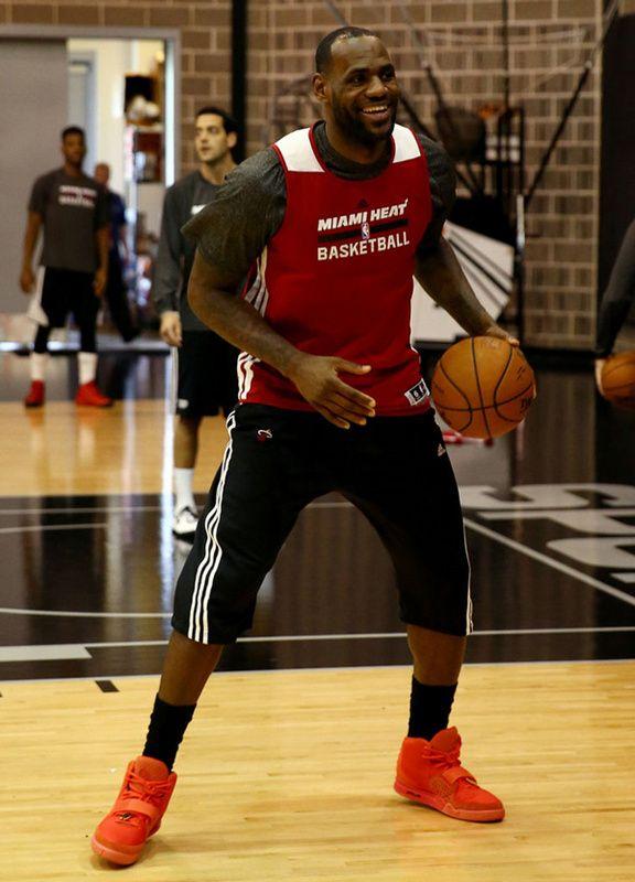 Lebron James Kanye West Nike Air Yeezy