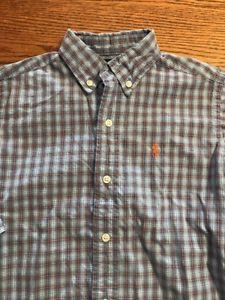 Polo, Ralph Lauren Boys Size 5 Multi Plaid Button Front Shirt  | eBay