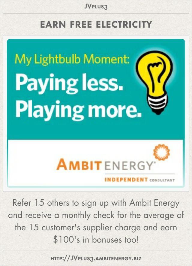 14 best Ambit Energy*save n earn money* images on Pinterest | Earn ...