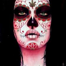 sexy sugar skull makeup - Google Search