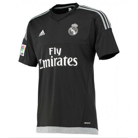 Günstige fußballtrikots Real Madrid 15-16 Torwart Heim Trikot