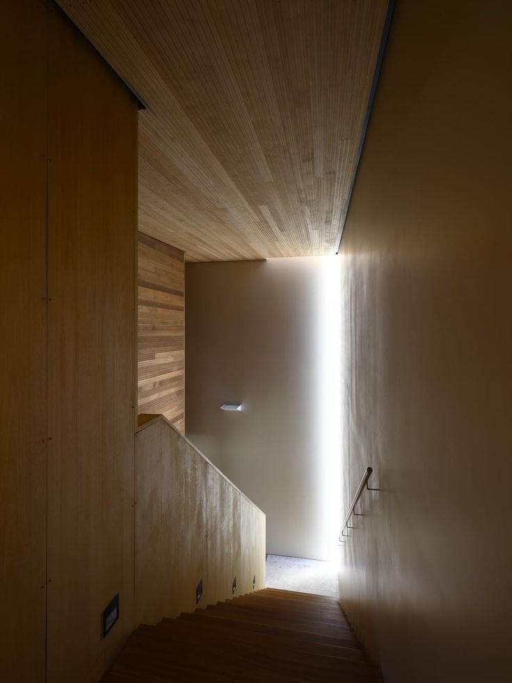 Timbeerwah Residence Stair   By Richard Kirk Architect