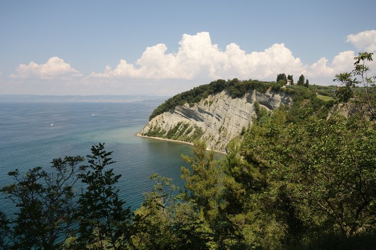 Slovenia travel. Slovenia coast. Piran. Pirano. Strunjan. The Strunjan Nature Reserve