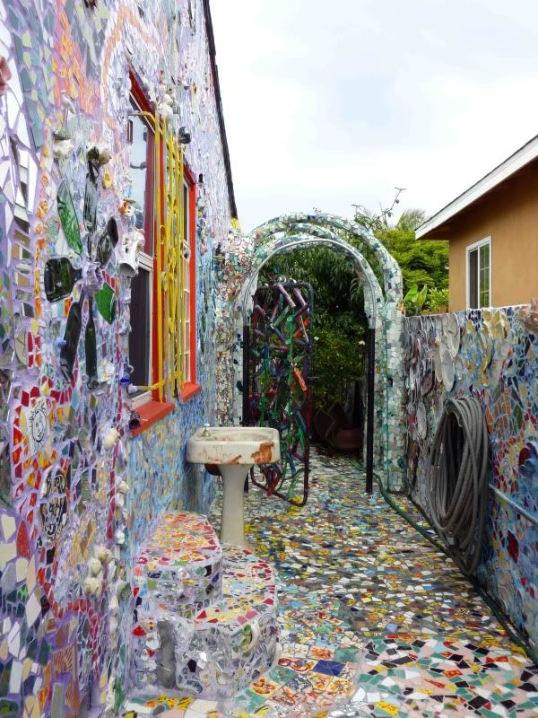 Avoiding Regret Photo Essay Mosaic Tile House Venice
