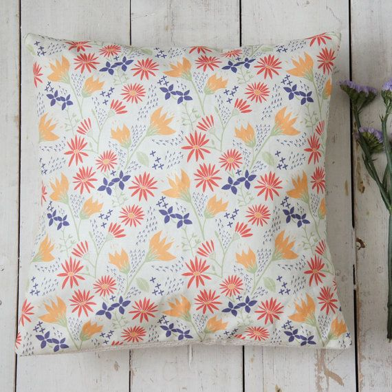 Half Price Decorative Cushion Cover Floral Design Floral