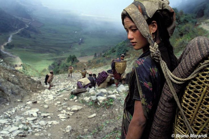 Mujer chhetri, Dhorpatan, Nepal