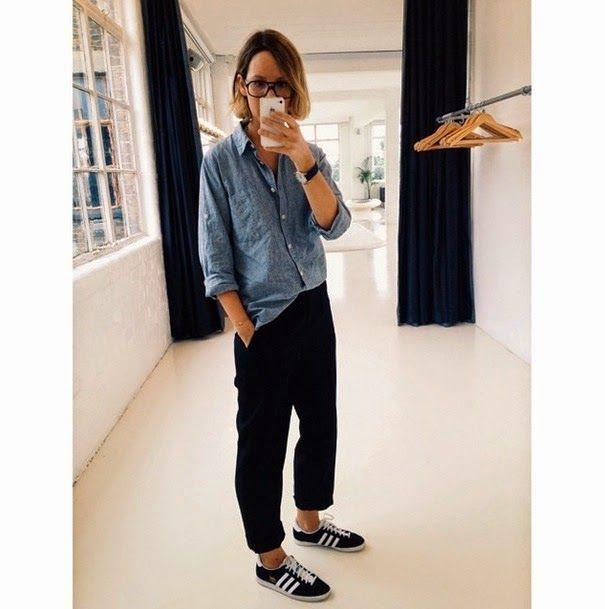 Love her!!! The Frugality - Gazelle Adidas - Ideas of Gazelle ...