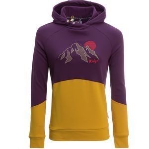 perfect hoodie for pre or post mountain bike ride. This is a Maloja BrandelbergM. Pullover Hoodie - Women's