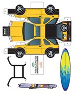 Paper Toys - Paper Cut-Outs - Free at PaperToys.com Great for stocking fillers or rainy days projects