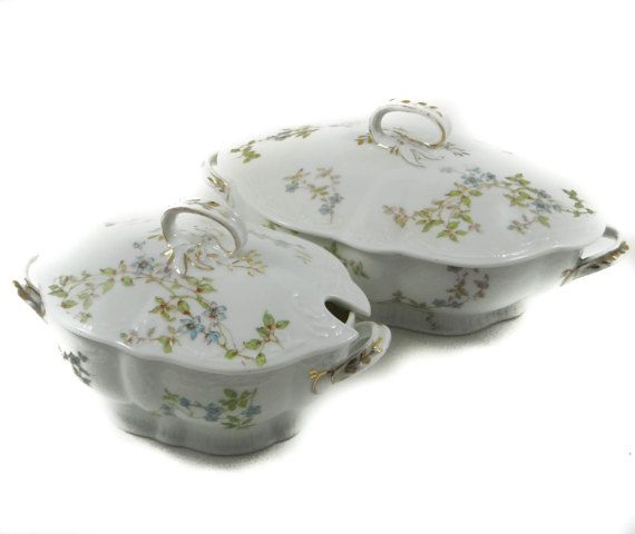 Victorian Tureens by Bawo & Dotter of Carlsbad Austria Soup