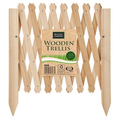 Wooden Garden Trellis | Poundland