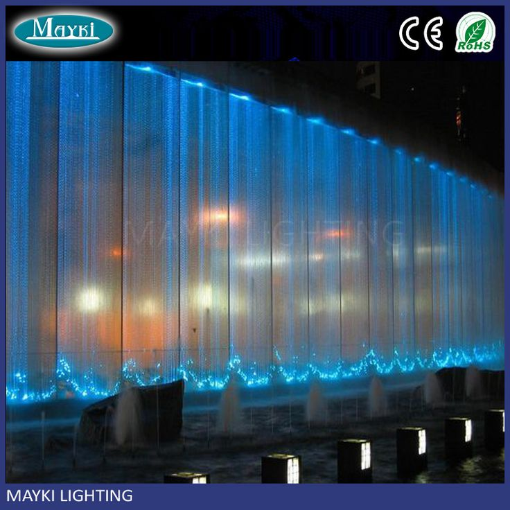 Manufacturer direct sale hight bright fiber optic waterfall light curtain with sparkle fibre cables
