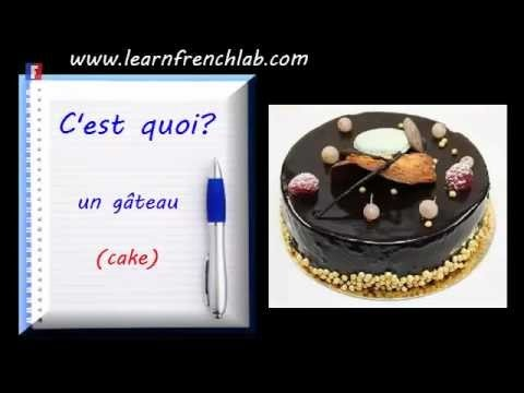 http://www.learnfrenchlab.com    #Video to learn French food vocabulary