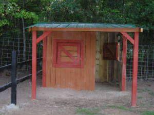 Buck barn ideas. goat shelter idea