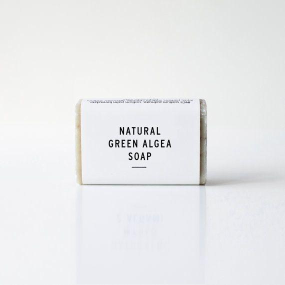 Natural green algea soap by ekodizajn on Etsy