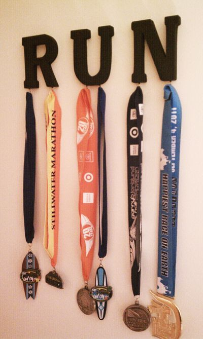 25 Unique Hanging Medals Ideas On Pinterest Running