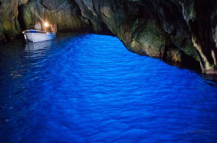 Blue grotto in Palinuro
