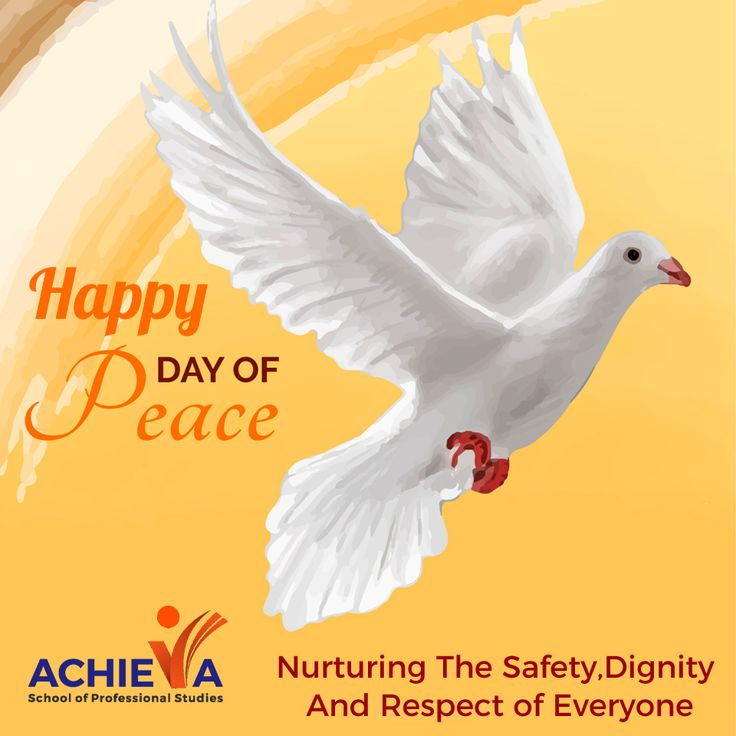 Think Peace, Act Peace, Imagine Peace and Spread Peace! Visit us @ http://amp.gs/lj8h #InternationalPeaceDay #Achieva