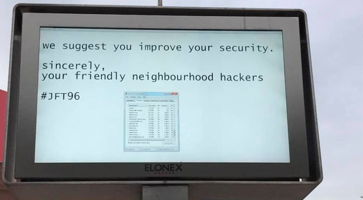 Hackers παραβίασαν οθόνη σε εμπορικό κέντρο - https://wp.me/p3DBOw-F2a - Σε ένα εμπορικό κέντρο στο Λίβερπουλ της Βρετανίας hackers παραβίασαν τις γιγαντοοθόνεςμηνυμάτων και πρότειναν στους διαχειριστές τους να βελτιώσουν την ασφάλειά τους.   Σύμφωνα με το BBC, στις Μαΐου, μια �
