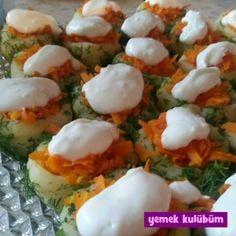 TARİF : Havuçlu Patates Salatası   #salata #havuç #patates #dereotu #zeytinyağı #limon #sarımsak #yoğurt #yoghurt #sağlıklı #hafif #diyet