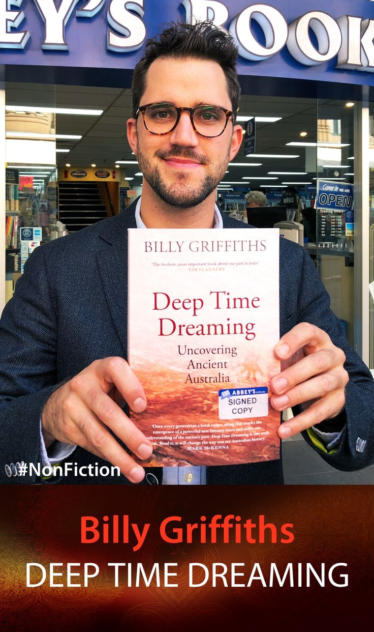 Billy Griffiths with Deep Time Dreaming at #abbeysbookshop. #131york #Sydney #Ausralianhistory #history #indigenoushistory