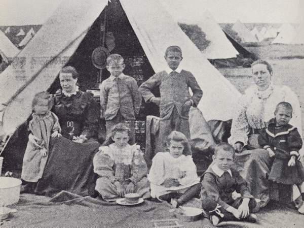Boere War Concentration Camp