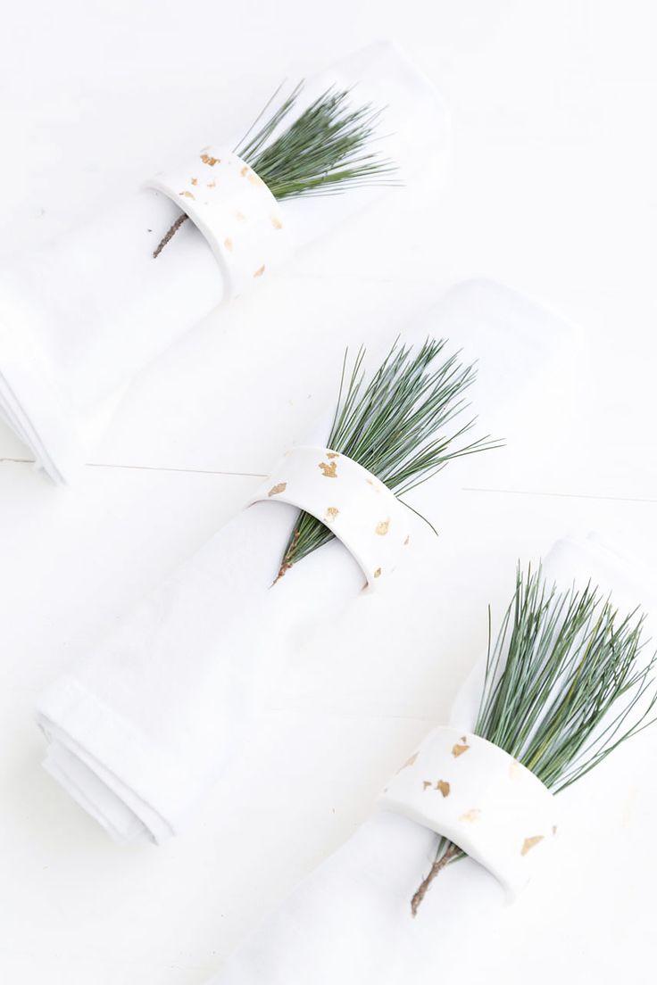 381 beste afbeeldingen van diy weihnachten amelie - Blattgold zum basteln ...