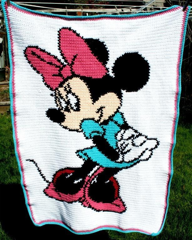 Minnie Mouse Chart/Graph  This is so stinking cute! :)