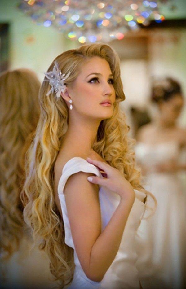Good Different Modern Wedding Hairstyles, Beautiful Hair Accessories, Beach Wedding  Hair Clip 2014 Www.