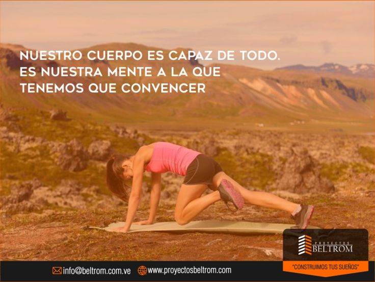 "#Frase de #Dia  Ingresa en: http://ift.tt/2pcw9de ""Nuestro cuerpo es capaz de todo. Es a nuestra mente a l que tenemos que convencer""  #contuccion #casa #house #home #hogar #nuevaesparta #vlencia #ventas #nuevo #familia #inversion #hoy #sabiasque #venezuela #panama #miami #moderno #construction #civilengineering #today #ingenierocivil #ingeniero #engineer #engineering #civil #work #construcaocivil ManejoDeRedes@nahaweb"