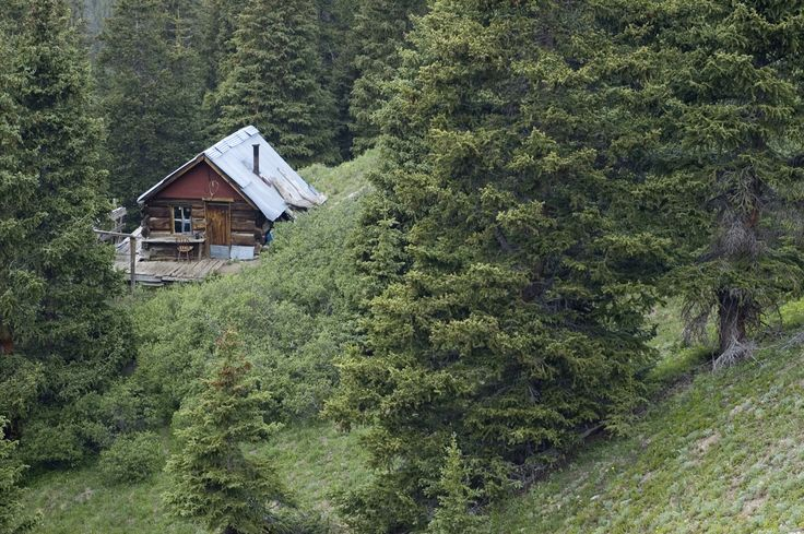 Mining cabin in Colorado