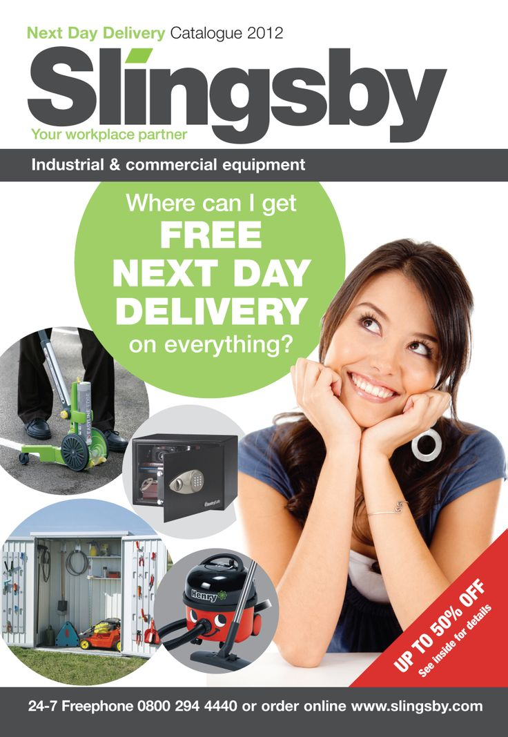 Slingsby Next Day Catalogue 2012