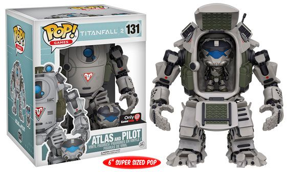 TitanFall 2's Pilot and Atlas Exclusive Pop will be in the GameStop Mystery Funko Box