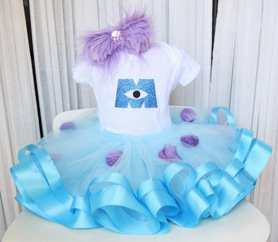 Monsters Inc Costume - Sully Costume - Monsters Inc Tutu - Monster Costume - Halloween Tutu - Halloween Costume - Girls Tutu