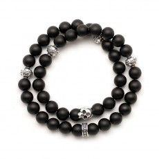 Bracelets wraps faits main en France en pierres fines et argent 925. Boutique en ligne - Flibustier Paris