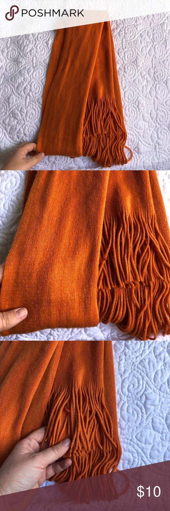 Super soft Merona Orange Scarf Super soft merona orange scarf in EUC Merona Accessories Scarves & Wraps