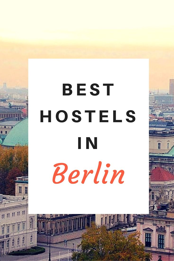 Deciding which hostel to stay at in Berlin, Germany is no easy task. The city is filled with a lot of incredibly cool options. We've narrowed down the choices for you. Click here to see a list of the best hostels in Berlin!