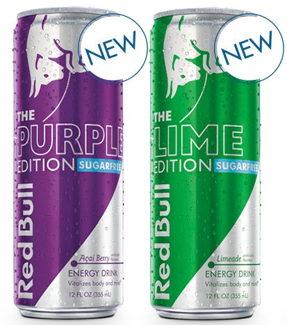 Red Bull Editions - NEW tastes out now. :: Energy Drink Editions :: Red Bull USA