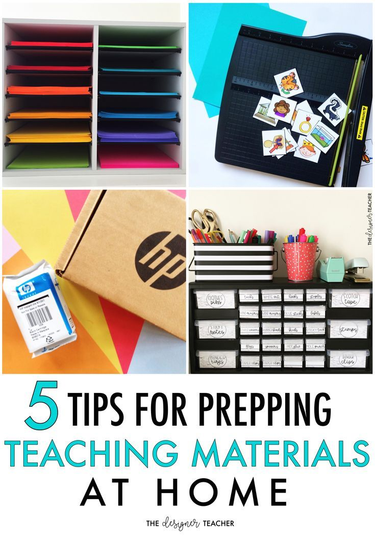 If you're an elementary or special education teacher, you probably spend a fair bit of time prepping teaching materials-- so why not make it as efficient and fun as possible? #teaching #education