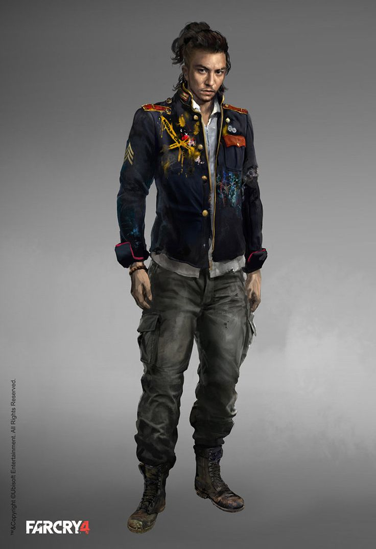 "Sabal from Far Cry 4. No matter how many outposts you liberate or cargo trucks you destroy, he will always call and say ""Welcome to the fight, brother!"""
