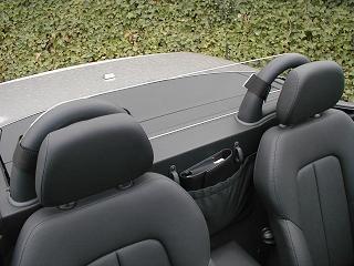 Mercedes SLK 320 Windscreen, Windblocker, Wind Deflector by Windblox. http://www.windblox.com/