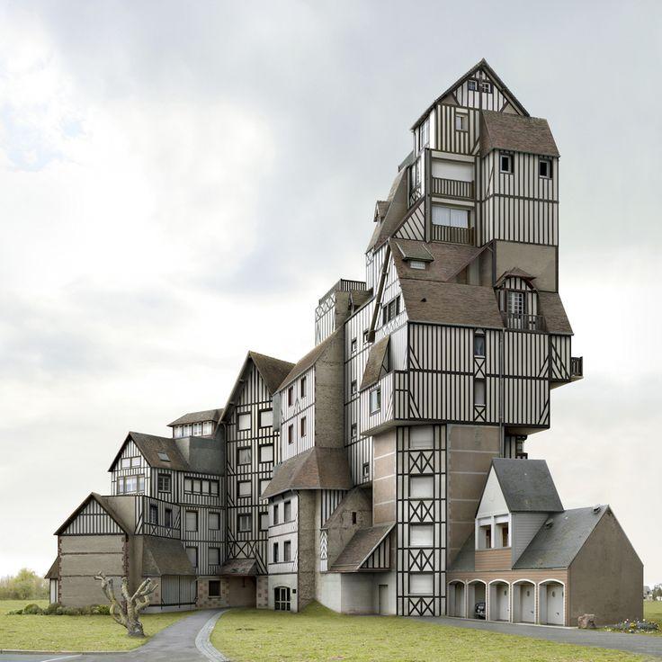 Filip Dujardin's '(dis)location' Exhibit Showcases Bizarre Architectural Landscapes (PHOTOS)