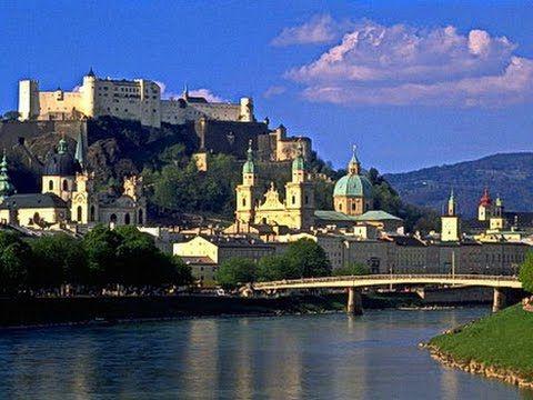 Salzburg. Зальцбург Австрия