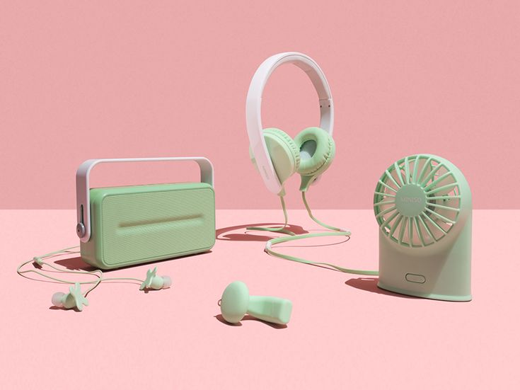 permafrost designs a collection of toy-like electronic devices for MINISO