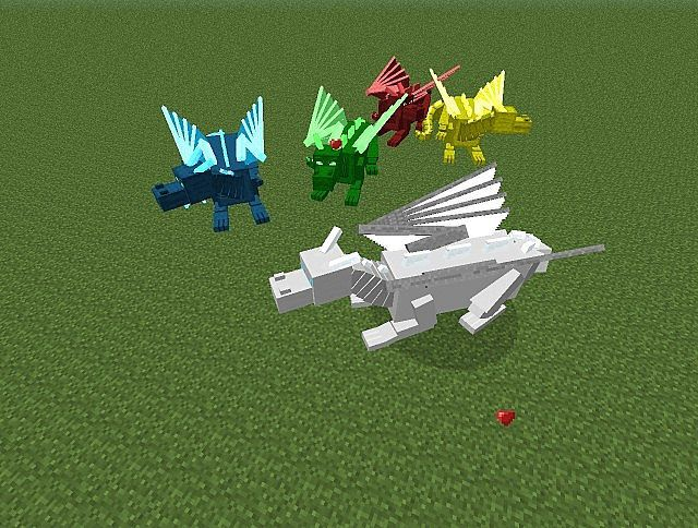 Dragon Craft Mod 1.6.4 Minecraft