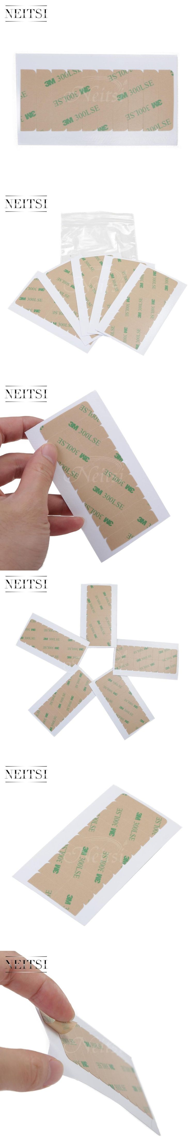 Neitsi 4cm*0.9cm 3M Double Sided Adhesive Tape For Skin Weft Tape Hair Extensions Super Adhesives Tape