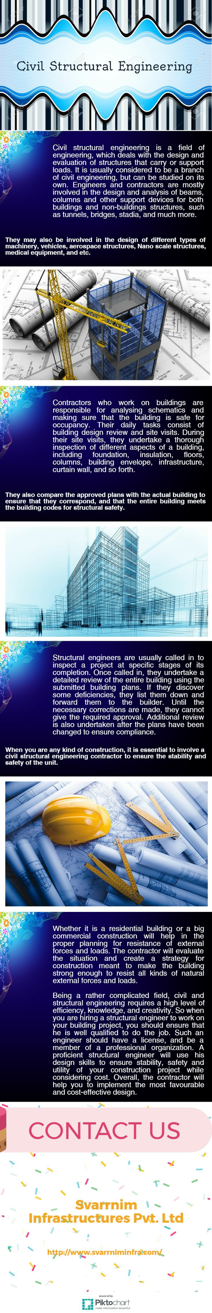civil structural engineering is a field of engineering which deals with the design and evaluation